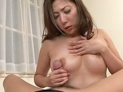 Hottest Japanese Chick Mirei Yokoyama In Fabulous Jav Uncensored Blowjob Scene