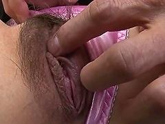 Asian Slut Suck Two Small Japanese Dicks