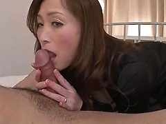 Hd Asian Mom Gives Footjob After Sucking Cock